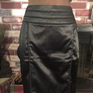 ❤️Love Culture Black stretch pencil skirt L ❤️